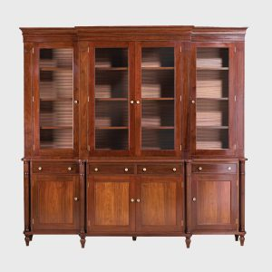 Classic Breakfront Bookcase wide