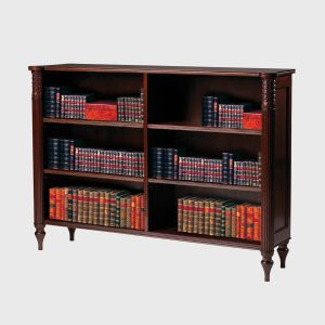 Classic Regency Low Bookcase (wide)