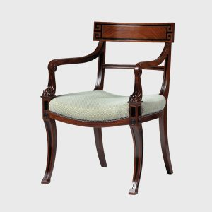 Classic Regency Elbow Chair dining or desk chair