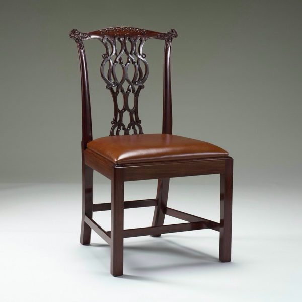 Classic Chippendale Side Chair