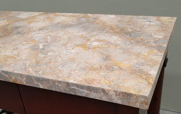 TA 421 Prep table marble detail