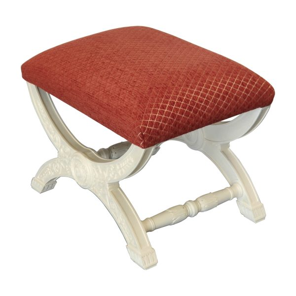 Carved French dressing stool TVX