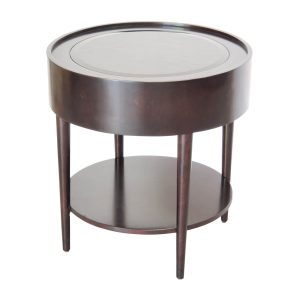 side table glass top troy