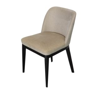 Zoe side chair black